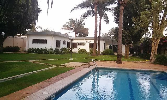a louer villa non meubl e avec piscine tokoin